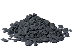 Crushed shungite 0-15 mm